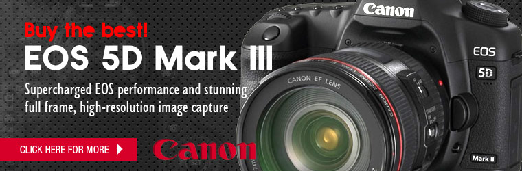 EOS 5D Mark III - Supercharged EOS performance and stunning 