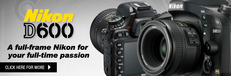 Pre-order your D600 now! We will be shipping them out on September 18th.