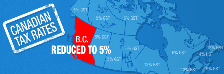Canadian Tax Rates